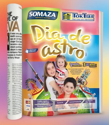 revista somaza criancas